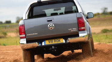 Used Volkswagen Amarok - rear off-road