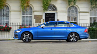 Volvo S90 long -term - second report side