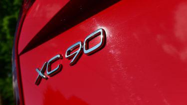 Volvo XC90 long-term test - XC90 badge