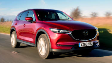 Used Mazda CX-5 - front action