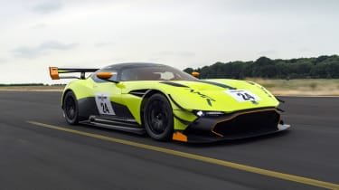 Aston Martin Vulcan AMR Pro - front action
