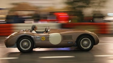 Jaguar C-Type at the London Classic Car Show