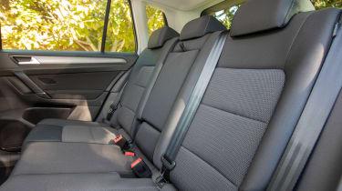 VW Golf SV - back seats