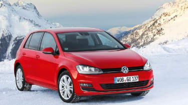 VW Golf 4Motion front static