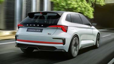 Skoda Vision RS concept - rear