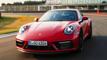 Porsche 911 GTS - full front