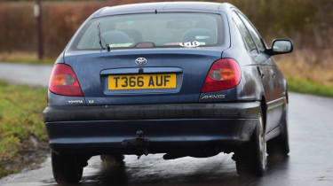 Used Toyota Avensis rear