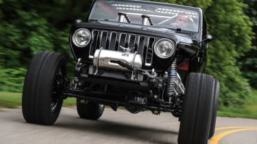 Jeep's wildest concepts driven - Quicksand front grille