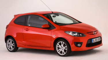 Used Mazda 2 - front
