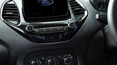 Ford Ka+ Active infotainment screen