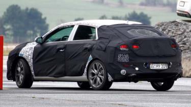 Hyundai i30 fastback rear quarter
