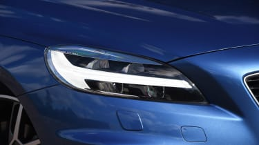 Volvo V40 Polestar Performance Pack - front light detail