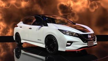 Nissan Leaf Nismo - Tokyo front/side