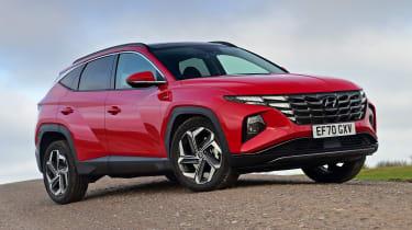 Hyundai Tucson MHEV - front static