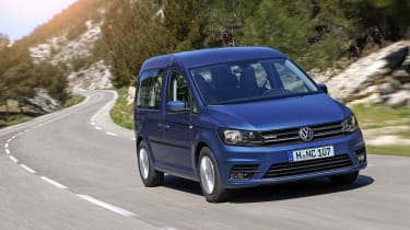 Volkswagen Caddy Life - front action