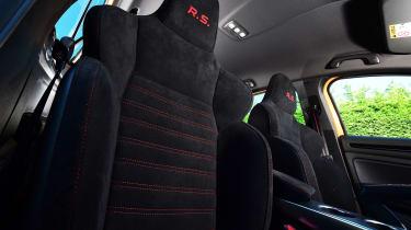 Renault Megane RS - front seat