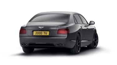 Bentley Flying Spur V8 S Black Edition rear quarter