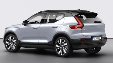 Volvo XC40 Recharge - rear 3/4 static