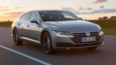 New Volkswagen Arteon - front quarter
