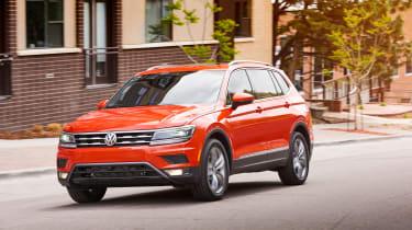 Volkswagen Tiguan Allspace - front panning
