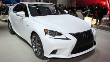 New Lexus IS front three-quarters