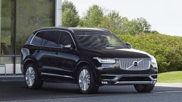Volvo XC90 Armoured - front