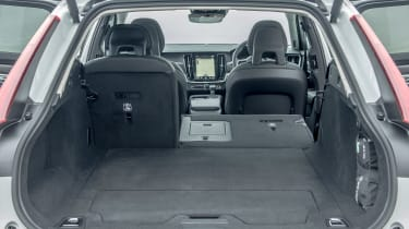 Volvo V90 Cross Country 2017 UK - boot seats down