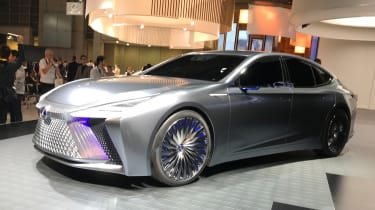 Lexus LS+ Concept - Tokyo front/side