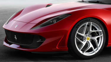 Ferrari 812 Superfast details front wheel