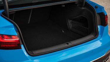 2019 Audi S4 saloon boot