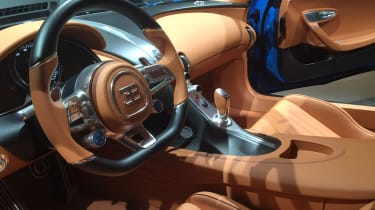 Bugatti Chiron Geneva 2016 - interior