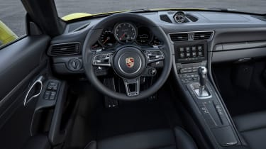 New 2016 Porsche 911 Turbo S interior