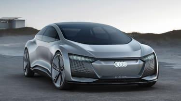 Audi Aicon concept - front