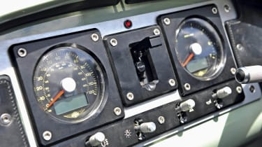 Morgan 3 Wheeler dials