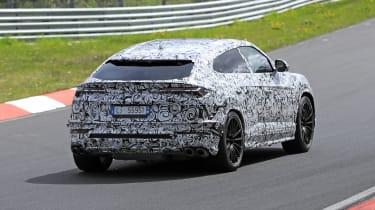 Lamborghini Urus spy - rear