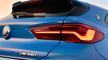 BMW X2 M35i - rear lights