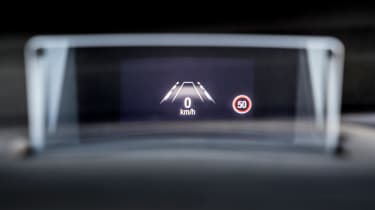 Ford Focus ST - head-up display