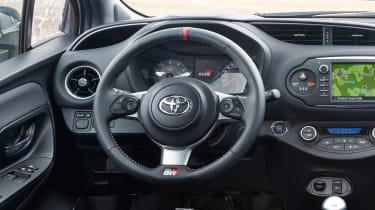 Toyota Yaris GRMN prototype interior