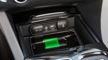 Kia Optima Estate 2016 - phone charging