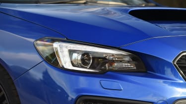 Subaru WRX STi Final Edition - headlight