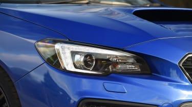 Subaru WRX STi Final Edition - headlight