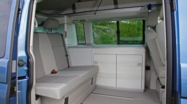Volkswagen California T6 seating