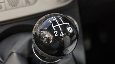 Fiat 500 gearknob
