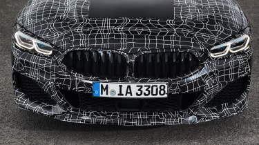 BMW 8 Series - bumper