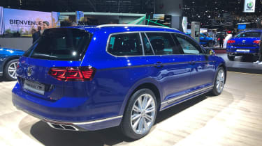 VW Passat R-Line rear