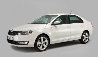 Used Skoda Rapid - front