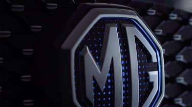 MG eZS - MG badge
