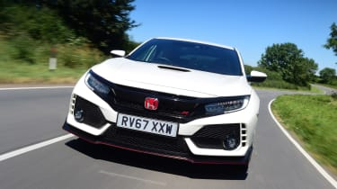 Honda Civic Type R - front action