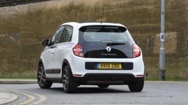 Renault Twingo - rear cornering