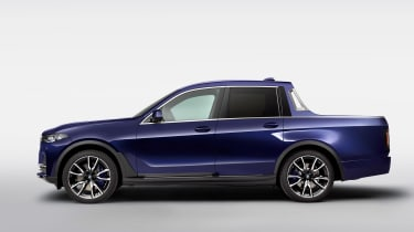 BMW X7 pick-up truck side